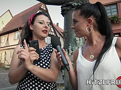 HITZEFREI German mom finds herself a impressive sausage to fuck
