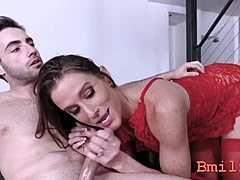 Carnal monica sage gets hold of mean plowing