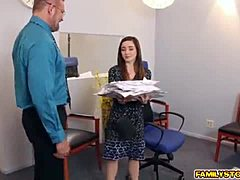 Guru pap got his ripe prick consumed by Bambi Brooks maturepornvideos