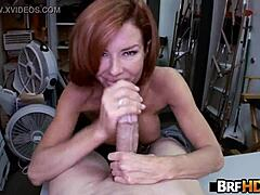 Gross tit mamma veronica avluv squirts in the backroom a couple of